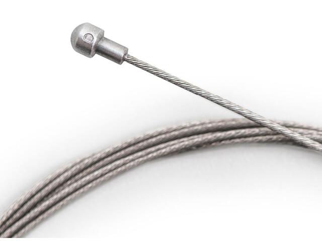 capgo OL Bromsvajer 1,5mm Slick rostfrittstål Shimano Road grå
